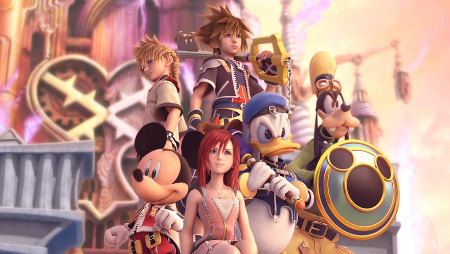 Fabuła Kingdom Hearts